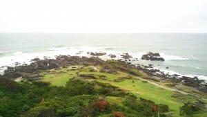 野島埼灯台からの眺め
