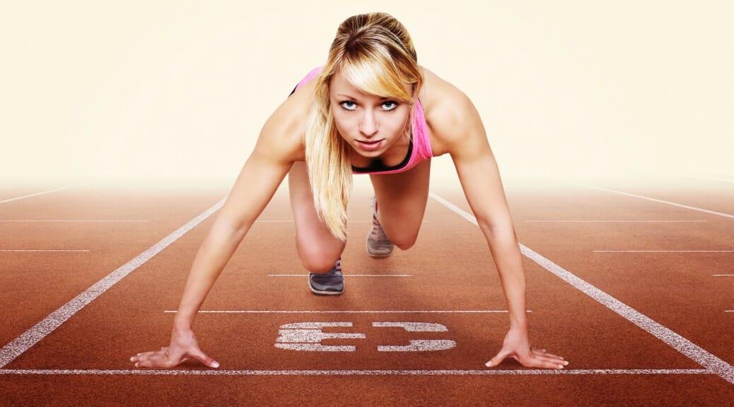 Sprinterin Startklar