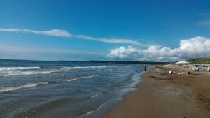 千里浜なぎさドライブウェイ ビーチ