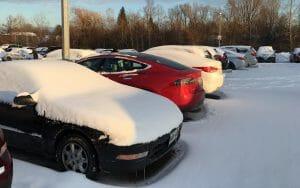 事前空調で融雪 (Copyright @wayner at TMC)