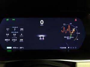 現在の航続距離は419km。新車時435kmから3.7%劣化