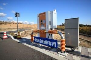 公共の充電スポット