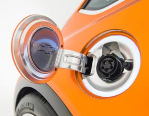 GM BOLTコンセプト(充電口)