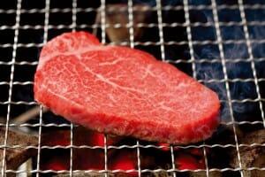名古屋の「柿安」の松阪牛あみ焼