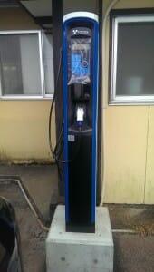 山形県米沢市 河鹿荘の普通充電器