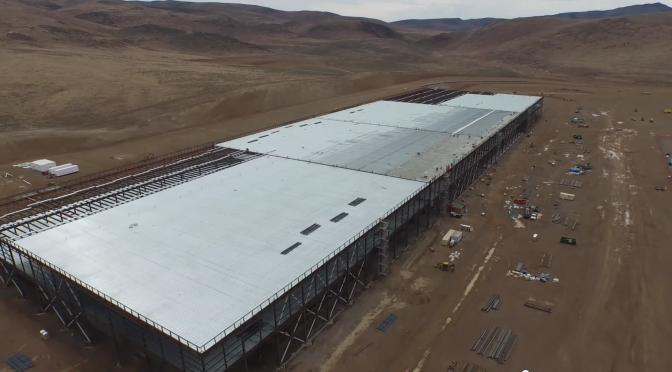 パナソニックが数百名をテスラのギガファクトリー(米国ネバダ州)に派遣、自動車分野への投資を増加