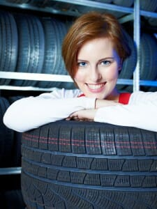 Apprentice is happy with a trainee position in a tire warehouse