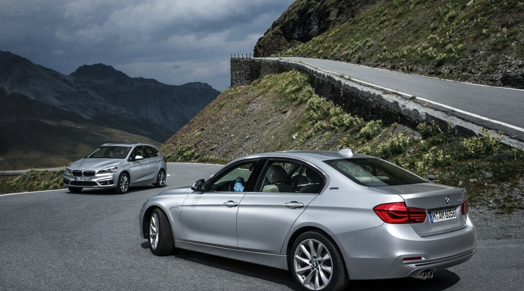 BMW 225xe and BMW 330e