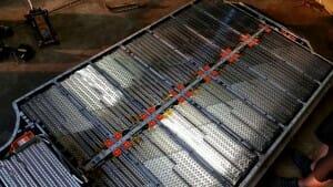 テスラモデルS バッテリーパック