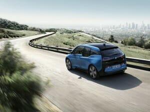 BMW i3 Blue