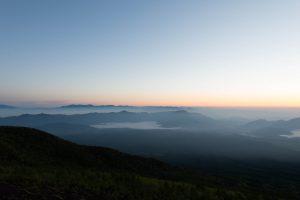 富士山からの富士五湖