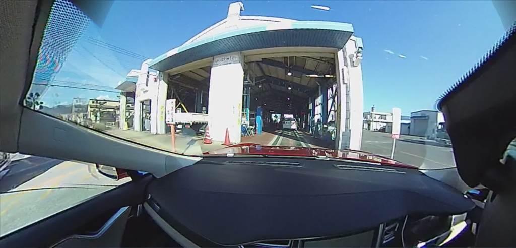 電気自動車でのユーザー車検レポート