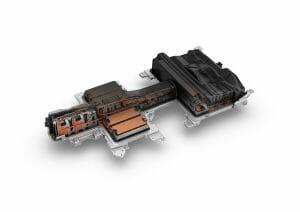 フォルクスワーゲンe-Golfのバッテリー・モジュール