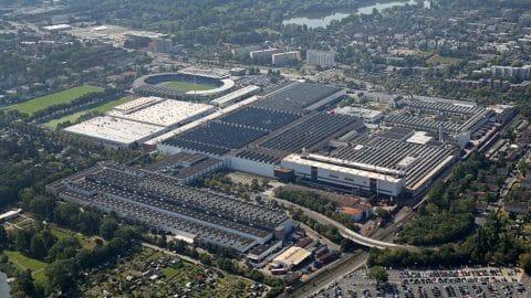 フォルクスワーゲンの大規模電池工場 ~ 年間50万台分