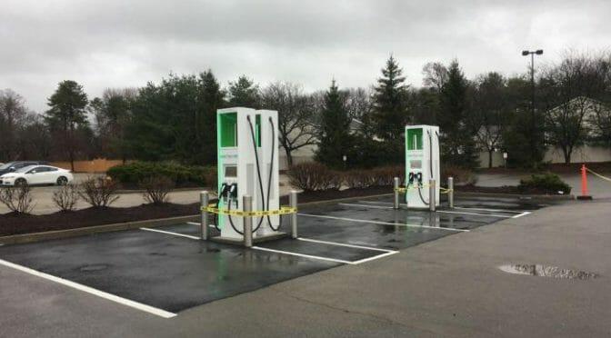Electrify Americaの充電スポットでは、今後はCHAdeMOのサポートは最小限に