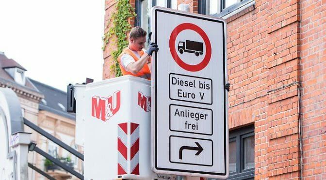 ドイツ・ハンブルク市がディーゼル車の一部街路への乗り入れを禁止[7/13追記]