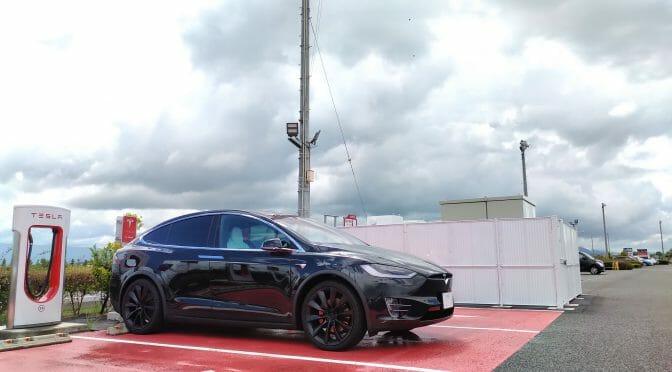 電気自動車テスラモデルXで500km旅行記:東京-福井2回目