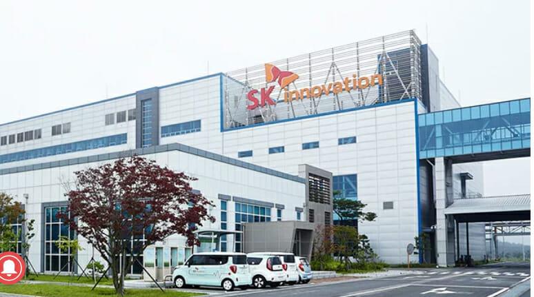 韓国SK Innovationがアメリカに大規模電池工場を建設の方向