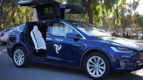 乗合い使用の電気自動車テスラ・モデルXが、48万キロを走行しバッテリーは12.6%劣化
