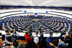 欧州議会(EU Parliament)はフランスのストラスブールにある。EUのサイトより転載。