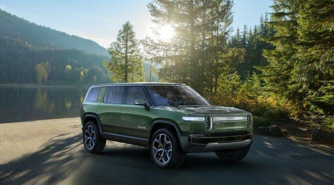 新星「Rivian」が完全電気自動車のピックアップトラックとSUVを発表