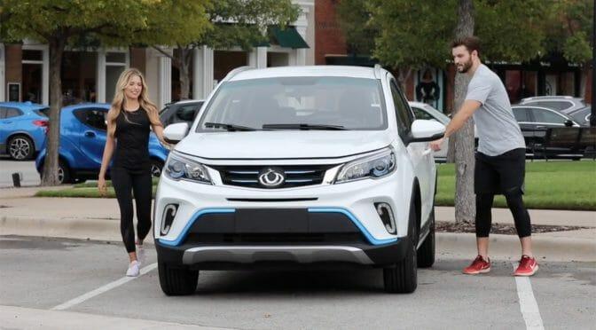中国製電気自動車Kandi EX3がアメリカの安全基準をクリアして株価急上昇