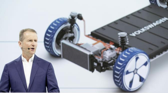 フォルクスワーゲンが2028年までに2200万台の電気自動車生産プランを発表