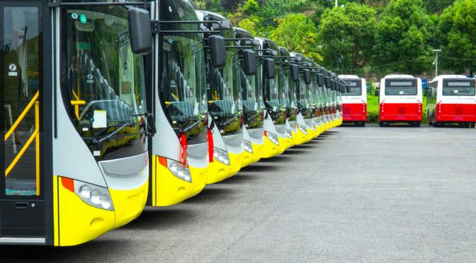 世界的研究機関が電気バスは電気乗用車の3倍も化石燃料回避に貢献と発表