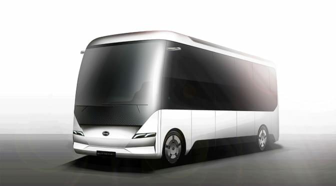BYDが小型電気バスを日本で販売。2020年春から納車開始で24年に1000台を目指す!