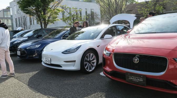 代官山『蔦屋書店』が電気自動車のモーニングクルーズを開催!