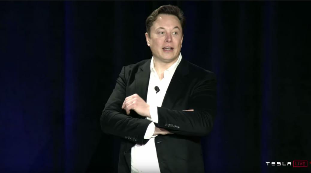 テスラのセミナーでイーロン・マスク氏が「2020年にはロボタクシーを実現」と言及