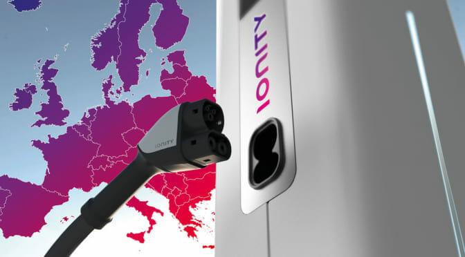 ポルシェがタイカン発売へ準備着々〜欧州の350kW超急速充電スポットが100カ所に!