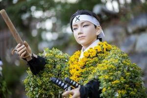 二本松の菊人形祭。二本松市の公式サイトより転載。