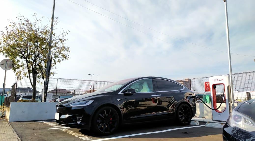 電気自動車テスラモデルXで東京-那須-福島を往復旅行
