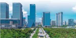 「エバーグランデ・グループ(恒大集団)」は、深圳に本拠を構える中国トップレベルの不動産コングロマリット。エバーグランデの公式サイトより転載。