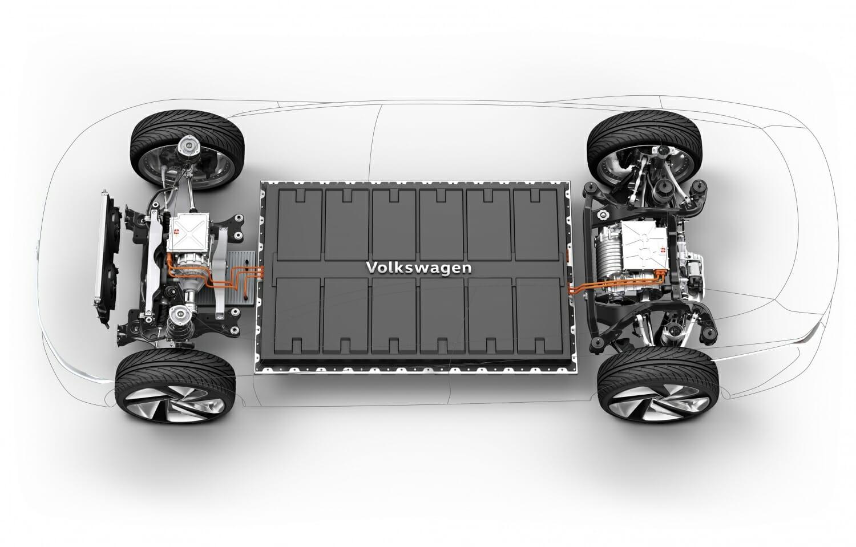 フォルクスワーゲンが自社の電気自動車用MEBプラットフォームをフォードと共有
