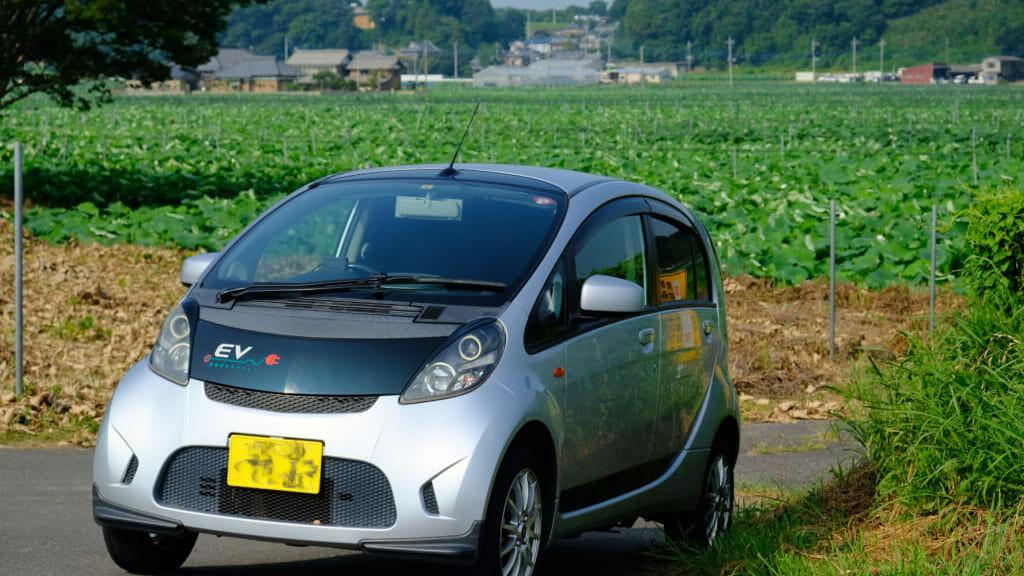 空冷BEV(三菱アイミーブM)で酷暑の往復250kmってどう?