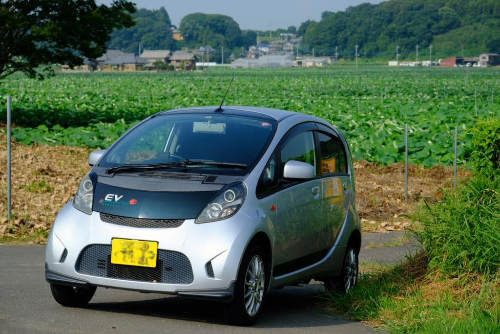空冷BEV(三菱アイミーブM)で酷暑の往復250kmってどう? | EVsmartブログ