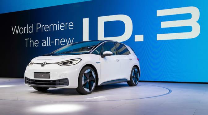 ウインクする電気自動車「ID.3」に初対面〜吉田由美の IAA レポート
