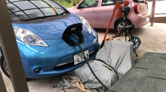 千葉大停電2019を電気自動車とV2Hで乗り切った被災者の体験談