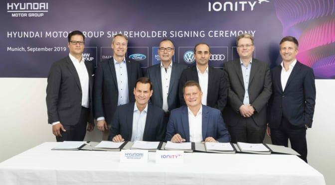 韓国・現代グループが欧州充電大手IONITYに参加
