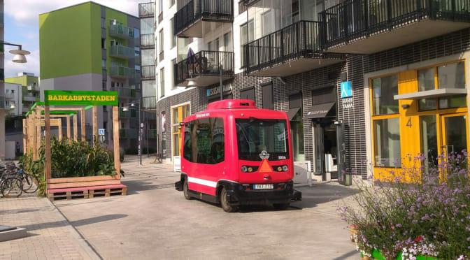 老いていく街のためのワン・マイル〜「ストックホルムの自動運転バスに乗ってきた」現地レポート