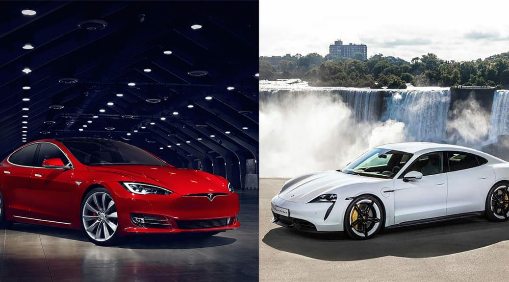ポルシェの完全電気自動車スポーツカー、タイカン発表!これはテスラの競合なのか?