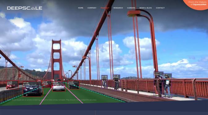 テスラがロボタクシー実現に向けて「DeepScale」を買収