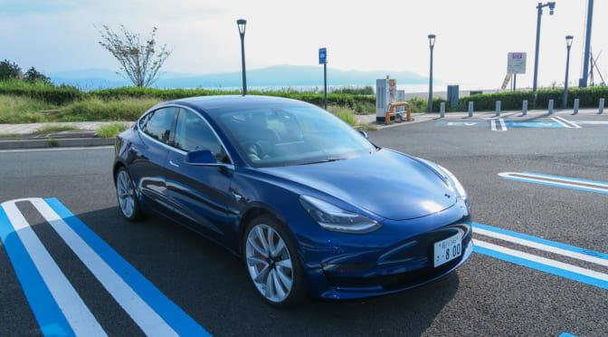 テスラ『モデル3』東京=淡路島ロングドライブでEV充電インフラについて考えてみた【復路編】