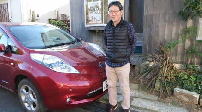 東京・調布でオフグリッドハウスを実現している電気自動車ユーザーをレポート
