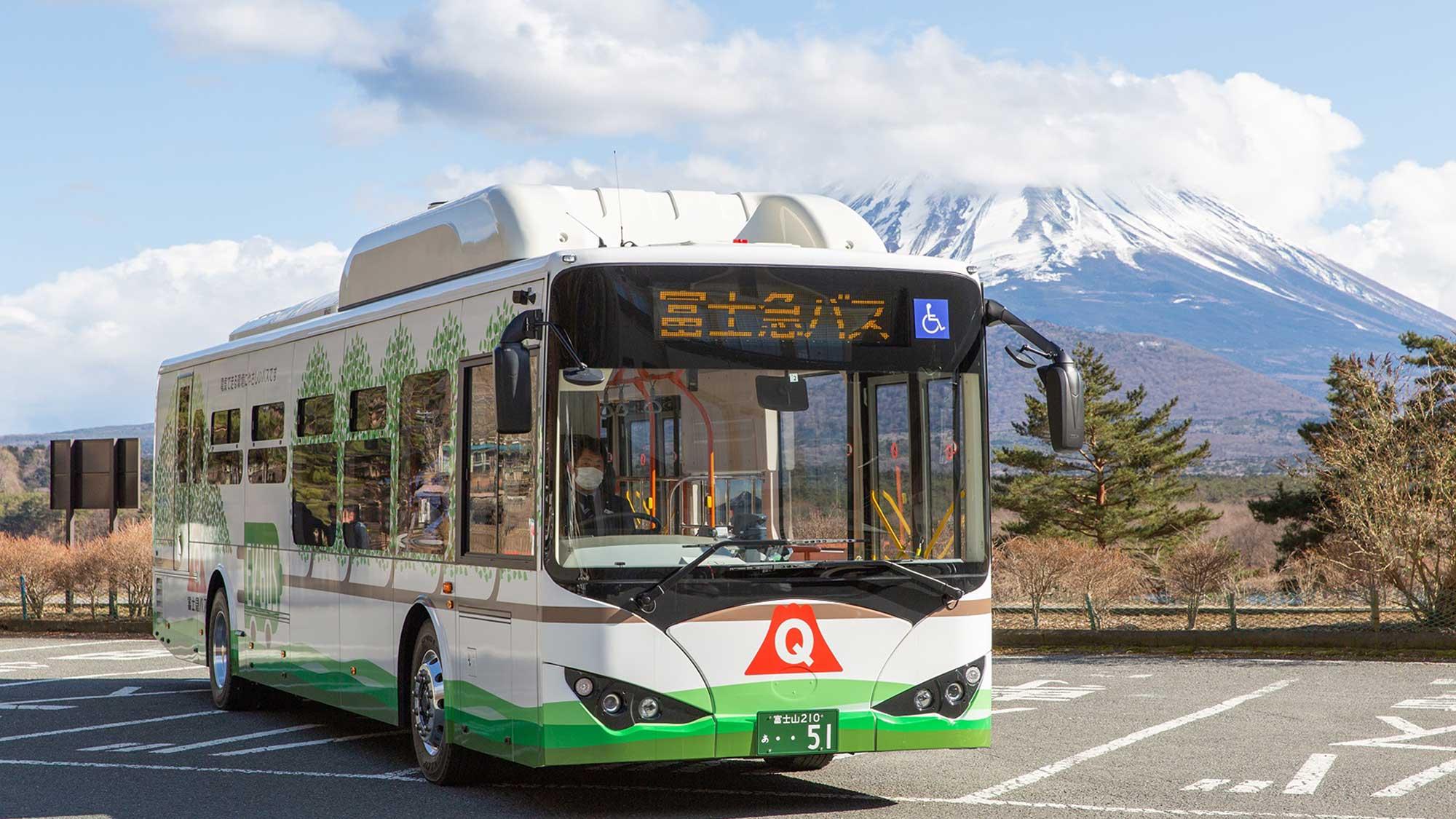 富士急バスが導入したBYDの大型電気バス『K9』に緊急試乗