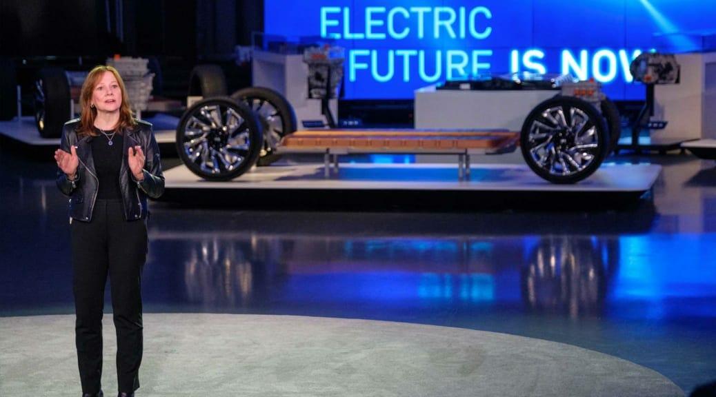 速報!GMが次世代バッテリー「アルティアム」とEVプラットフォームの詳細を発表