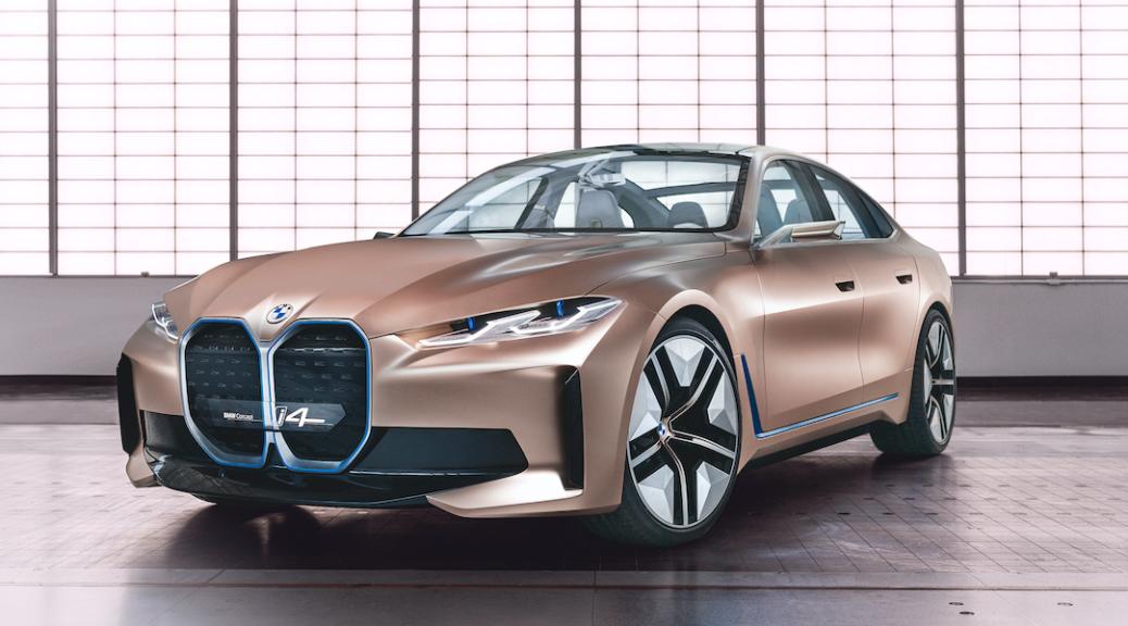 BMWのBEVはどこへ向かう 〜 Concept i4発表