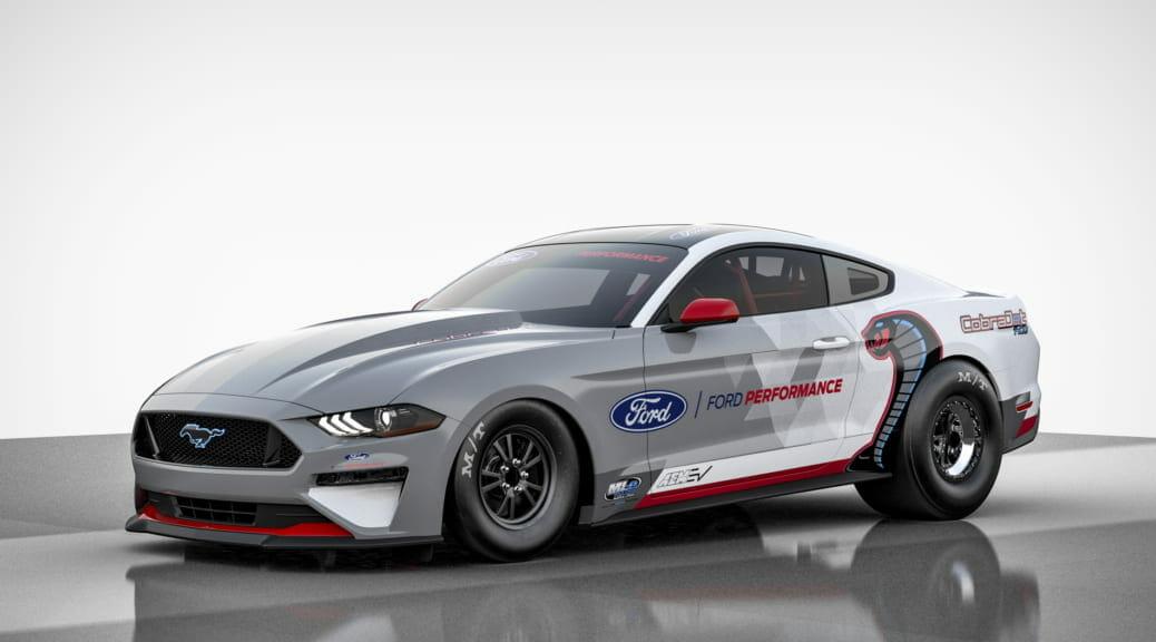 フォードが1400馬力のEV『マスタング・コブラ・ジェット』を公開